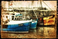 Trinity (wolfmanmoike) Tags: sea colour boats quay wicklow photoart arklow berth colorphotoaward aplusphoto