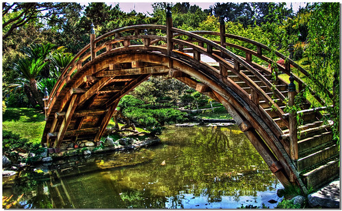 Bridge To Japanese Gardens