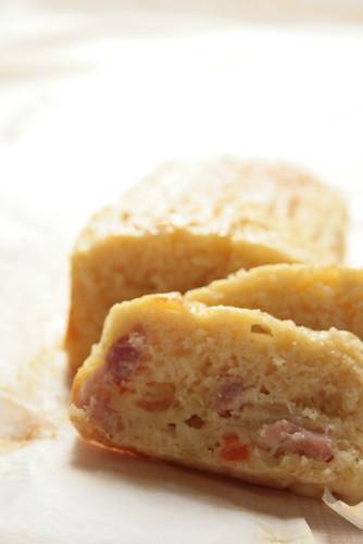 cake au lardon oignon