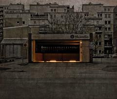 Hell's garage (gothicburg) Tags: photoshop göteborg sweden ominous garage gothenburg doom layers gloom portal sverige lightroom olympusc5050z spittinshells gothifytheordinary drivewaytohell