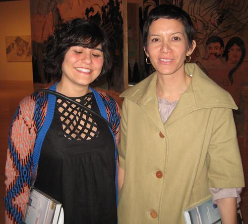 Carlee Fernandez and Rita Gonzalez