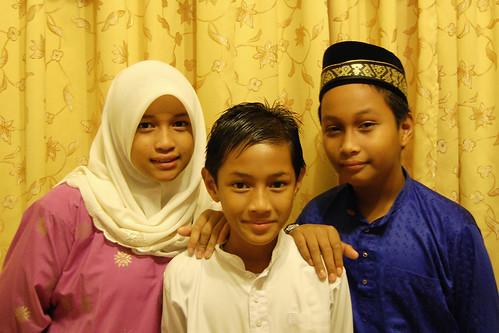 Fara, Edrin & Sam