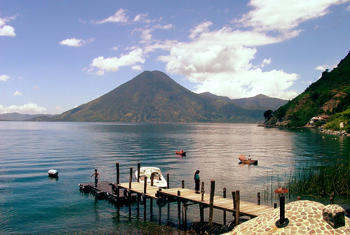 Lake Atitlan vista from Jaibalito