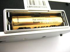 Het batterijvak.