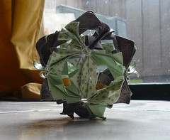 arabesque (ohhmyhead) Tags: origami arabesque kusudama
