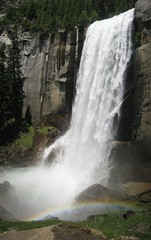 The Mist Trail - Vernal and Nevada Falls