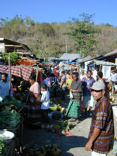 Market of Labuan Bajo