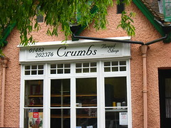 "Bread Shop Named ""Crumbs"""