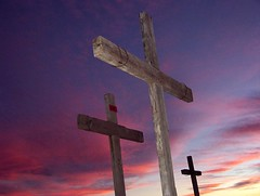 Atardecer. Via Crucis. San Pedro del Gallo. Durango. (lurogaca) Tags: sky church temple desert dusk iglesia cielo desierto durango crepúsculo sanpedrodelgallo