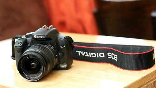 Canon XSi/450D (front)