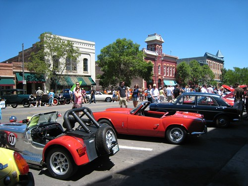 Old Town Car Show, Fort Collins
