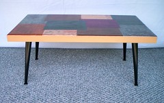 Retro Lounge Style Coffee Table (RetroTwist) Tags: table decoupage retrowood