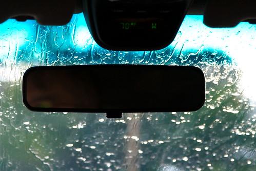 5/365: Summer Rain in the Car