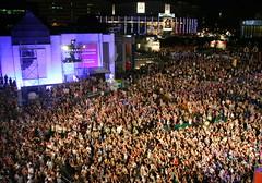 Montreal Jazz Festival - Bran Van 3000 Concert Crowd