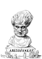 ARISTÓTELES (Morales de los Ríos) Tags: writers caricaturas philosophers caricatures escritores filósofos