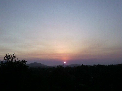 Sunset from Thousand Oaks