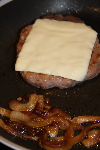 Cheeseburger and Onion