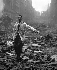 milkman (Foxtongue) Tags: london vintage war wwii british blitz devastation milkman fredmorley