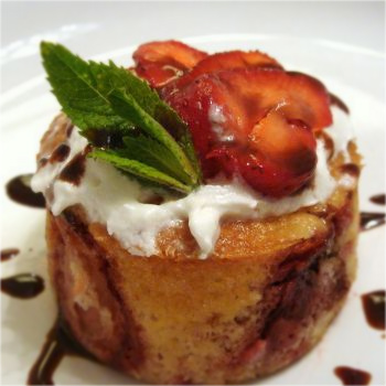 baked-strawberry-dessert-pudding