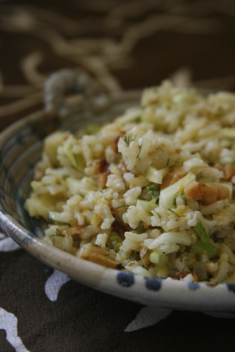 Brown Rice & Fennel Salad