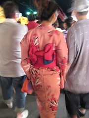 Kimono at night
