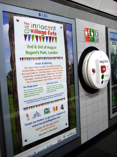 Innocent Village Fete -  London Underground Ad