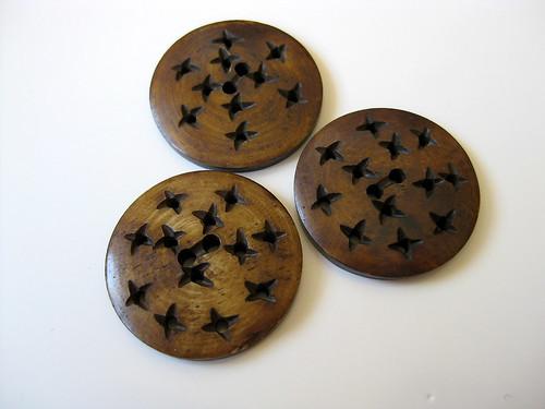Lizzie Ann Star Buttons