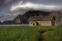 The abandoned  town of Mostad. III (solbergsengen) Tags: abandoned decay hdr vry 3xp roadless vaeroy forlatt forfall varoy mostad