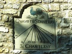 Quand tu sonneras, je chanteray (Weingarten) Tags: paris france frankreich montmartre sundial francia meridiana parigi sonnenuhr cadransolaire