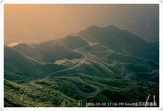 2008.08.08金瓜石茶壺山爬山 (2)