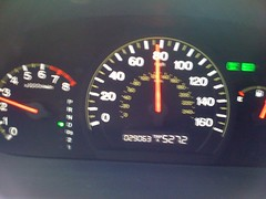 527.2 miles (did 600 the first day) (alist) Tags: travel drive alist data miles odometer alicerobison ajrobison