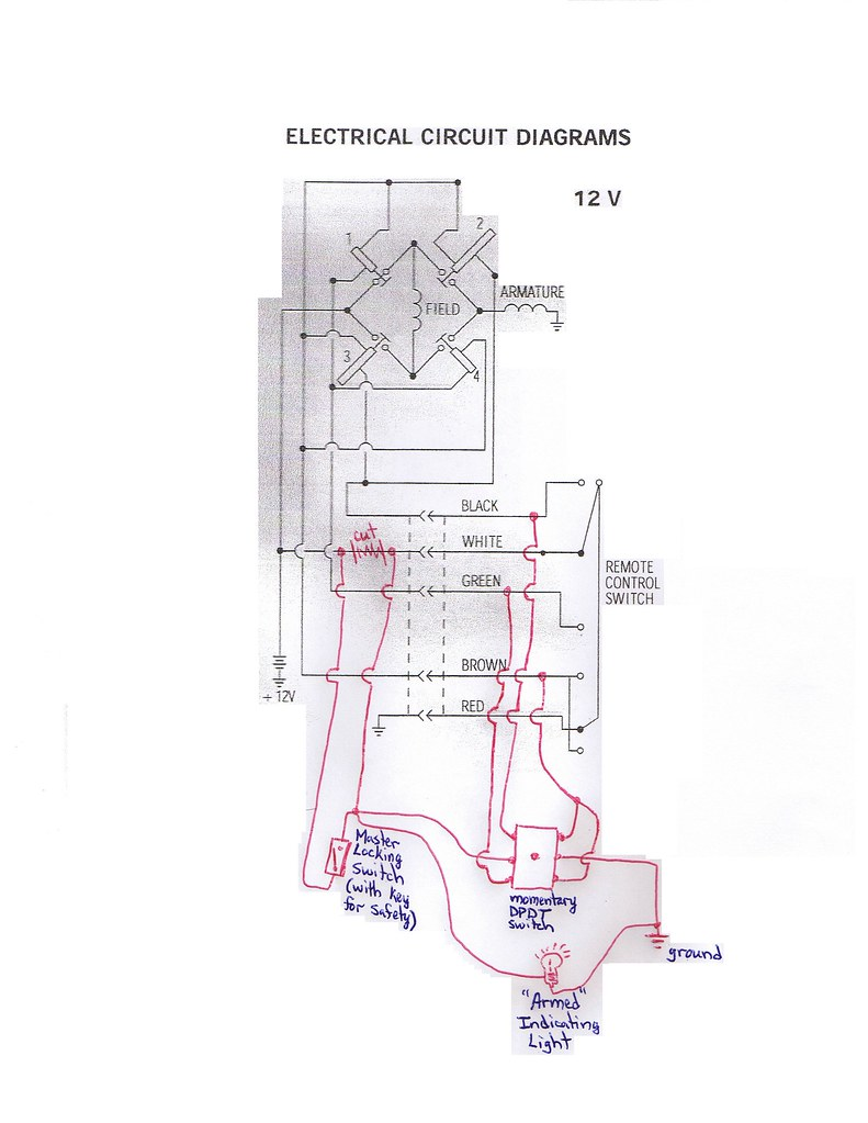 Winch Controller Wiring Diagram Library Solenoid Switch As Well Badland Winches In Cab Control For Warn M8000