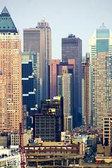 New York Vertical City (Tony Shi Photos) Tags: new york city vertical pier town manhattan hill midtown condo times hudson rockefeller ge mid hdr mcgraw nast     thnhphnewyork