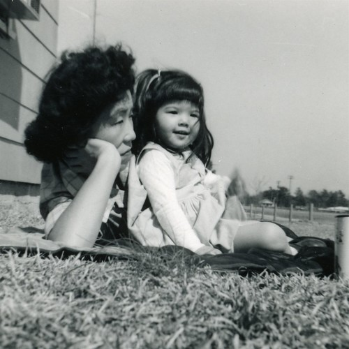 My Mom & Grandma in the early 60's