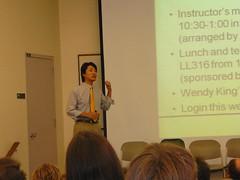 paul matsuda welcomes the asu writing program instructors (alist) Tags: english alist asu robison alicerobison ajrobison paulmatsuda