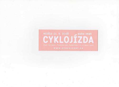 Autocolante checo MC por você.
