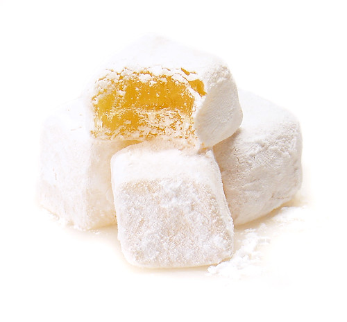 Honey & Lemon Verbena Turkish Delight