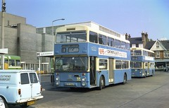 Southend Fleetlines. (Renown) Tags: buses essex viva busstation coaches doubledecker daimler fleetline havan southendtransport northerncounties corporationbuses ncme crg6 crl6 bedfordha municipalbuses jtd396p southendcorporation