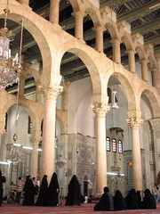 inside the Umayyad Mosque (aniarenia) Tags: world heritage mosque unesco syria damascus sites umayyad