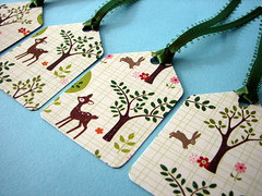 Forest Friends gift tags (by glamourfae)
