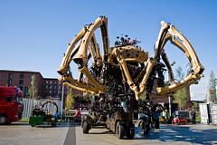 La Machine - Day 2 (mobilevirgin) Tags: sculpture art liverpool canon spider 30d capitalofculture2008 lamachine laprincesse