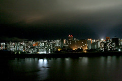Pyongyang at night. (ShanLuPhoto) Tags: building night north korea pyongyang dprk