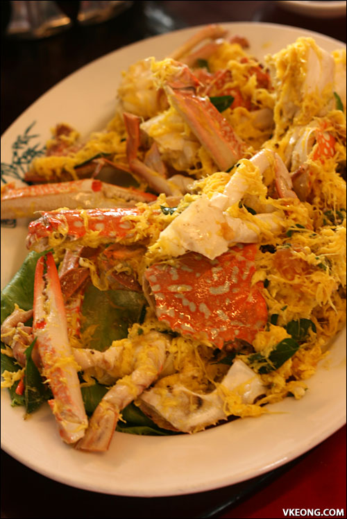 salted egg flower crab