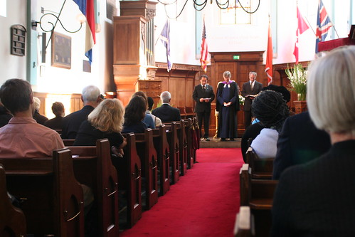 9/11 Remembrance in Amsterdam - Ecumenical Prayer