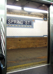 Spring St Subway Station New York