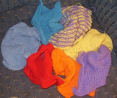 assorted dishcloths