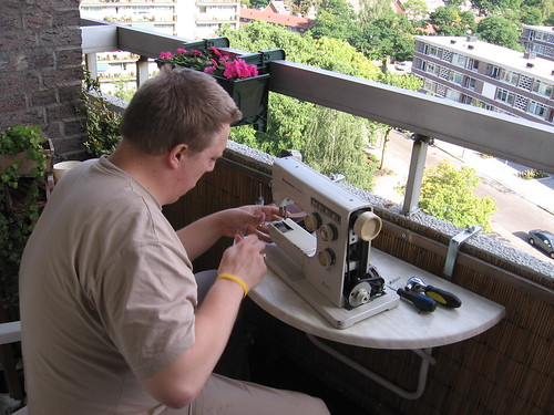 Sewing Machine Repair Man
