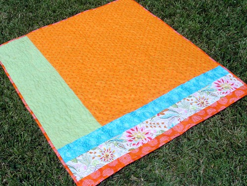 bright quilt back