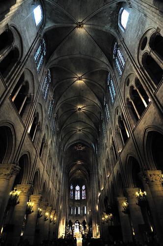 Notre Dame of Paris - nave
