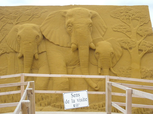 Sand Sculpture at Le Touquet